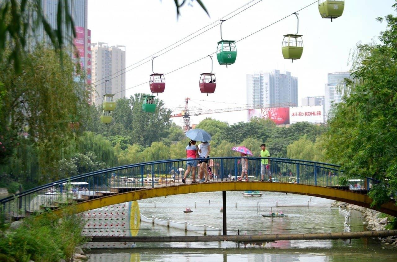 Walking Tour in Zhengzhou