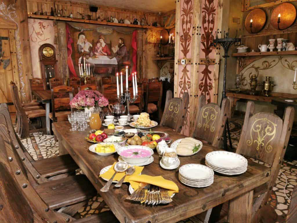 Edukacinė lietuviškų patiekalų degustacija
