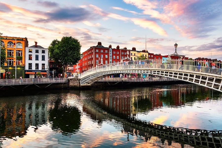 Walking Tour In Dublin For European Tourist