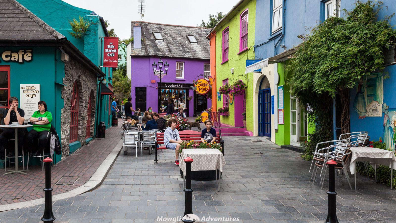 Family walking tour in Cork