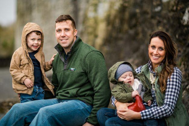 Family walking tour in Dublin